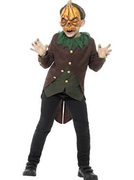 Child Goosebumps Jack O Lantern Costume