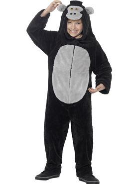 Child Gorilla Onesie Costume