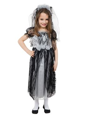 Child Gothic Bride Costume