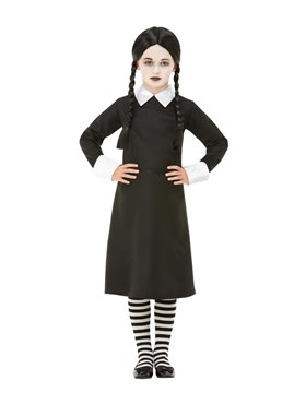 Child Gothic School Girl Costume - Back View