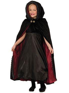 Child Gothic Vampire Cape