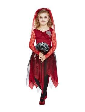 Child Grave Yard Bride Costume