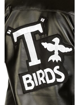 Child Grease T-Bird Jacket - Back View