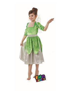 Child Green Pixie Fairy Costume
