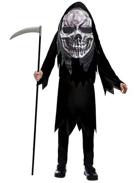 Child Grim Reaper Big Head Costume