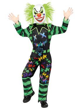 Child Haha Clown Costume Couples Costume