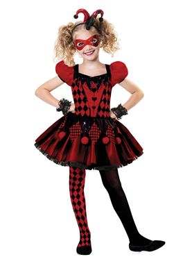 Child Harlequin Cutie Costume