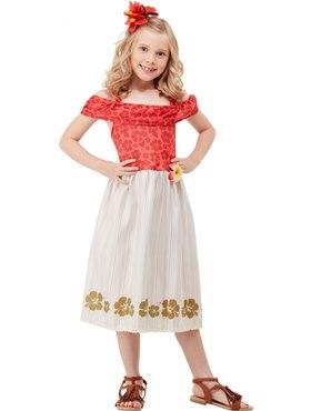 Child Hawaiian Princess Moana Costume
