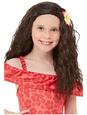 Child Hawaiian Princess Moana Wig