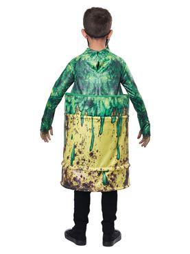 Child Hazardous Waste Costume - Side View