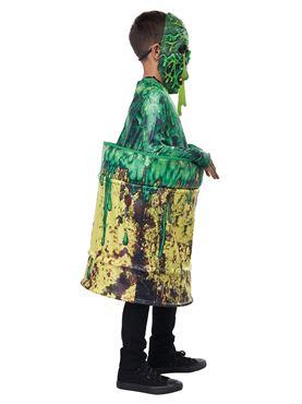 Child Hazardous Waste Costume - Back View