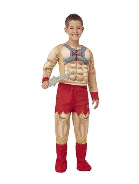 Child He-Man Costume with EVA Chest