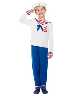 Child High Seas Sailor Costume Couples Costume