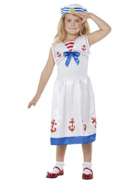 Child High Seas Sailor Costume - Back View