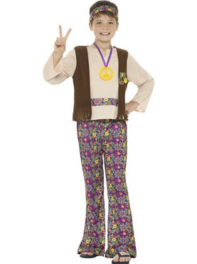 Child Hippie Boy Costume Couples Costume