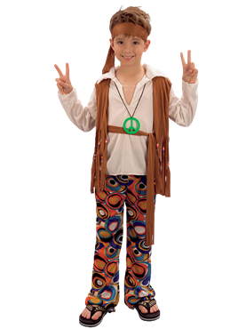 Child Hippy Boy Costume Couples Costume