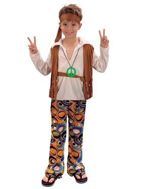Child Hippy Boy Costume