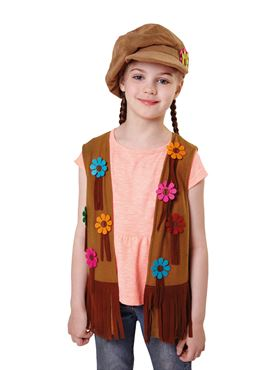 Child Hippy Girl Waistcoat