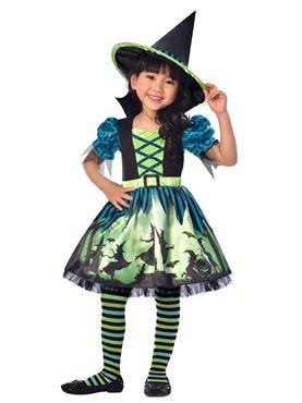 Child Hocus Pocus Witch Costume
