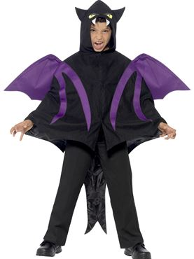 Child Hooded Creature Cape Costume