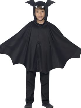 Child Bat Cape Costume