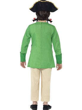 Child Horrible Histories Blackbeard Costume - Side View