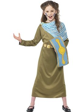 Child Horrible Histories Boudicca Costume