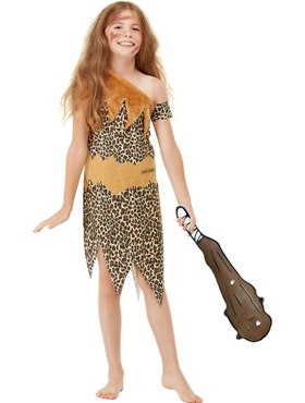 Child Horrible Histories Cave Costume