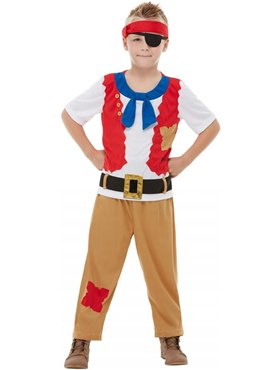 Child Horrible Histories Pirate Crew Costume