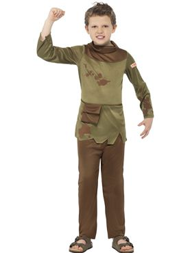 Child Horrible Histories Revolting Peasant Boy Costume Thumbnail