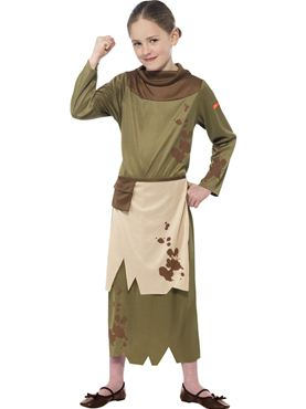 Child Horrible Histories Revolting Peasant Girl Costume Thumbnail
