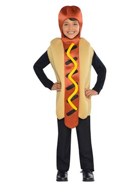 Child Hot Dog Costume Couples Costume
