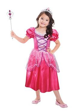 Child Hot Pink Princess Costume