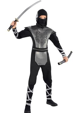 Child & Teen Howling Wolf Ninja Costume
