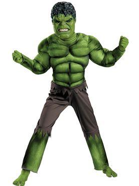 Child Hulk Avengers Costume