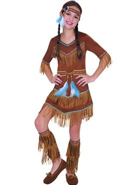 Dress > Girls Fancy Dress > Child Indian Dream Catcher Cutie Costume