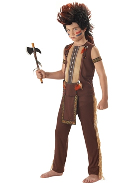 Child Indian Warrior Costume