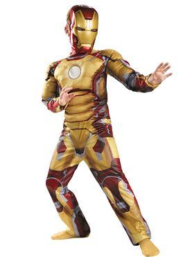 Child Iron Man 3 Mark 42 Avengers Costume
