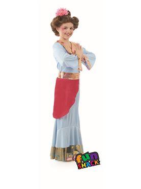 Child Japanese Princess Costume - Side View