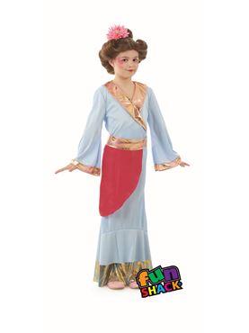 Child Japanese Princess Costume
