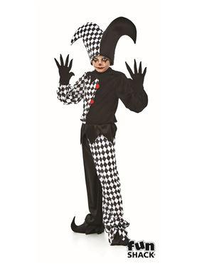 Child Jester Boy Costume