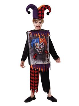 Child Jester Tabard & Hat Couples Costume