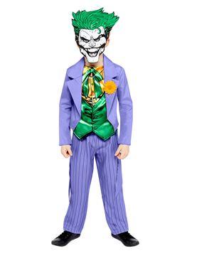 Child Joker Comic Style Costume - Side View