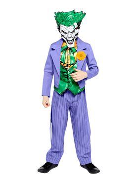 Child Joker Comic Style Costume