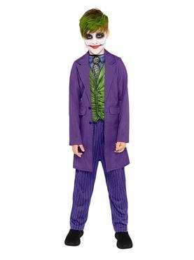 Child Joker Movie Costume - Back View