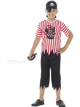 Child Jolly Pirate Boy Costume