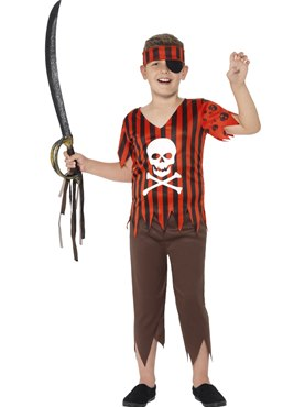 Child Jolly Roger Pirate Costume