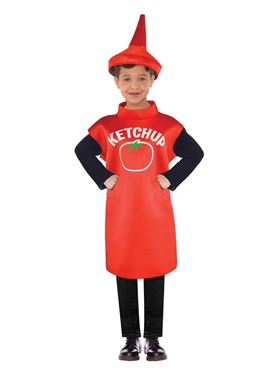 Child Ketchup Bottle Costume