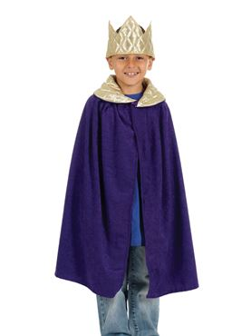 Child King's Tabard and Crown