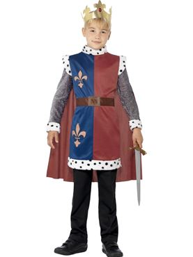 Child King Arthur Costume